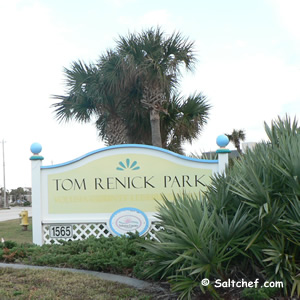 tom renick beach park ormond by the sea