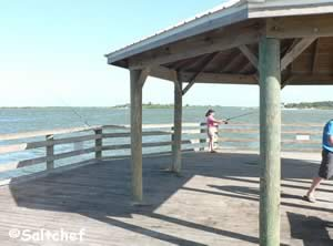 fishing pier western banks of indian river north