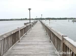 fishing pier near halifax harbor boat ramp