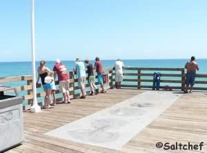 ocean pier fishing daytona