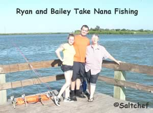 ryan and bailey take nannna fishing