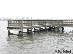 riverfront veterans park fishing pier