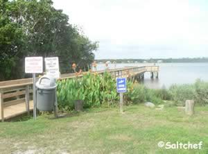 volusia county intercoastal fishing dock ormond beach