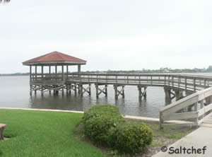 fishing pier at riviera park