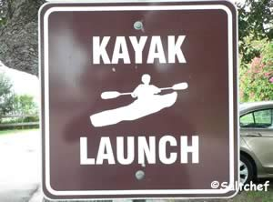 you can launch kayak at roberta drive ormond beach