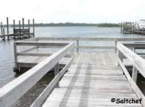 ormond beach fishing dock