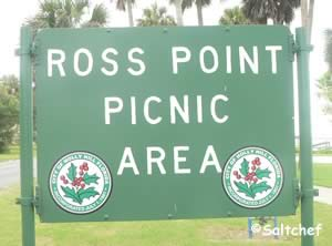ross point picnic area sign