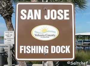 sign at san jose fishing dock