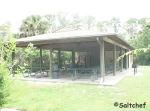 pavilion at spruce creek park