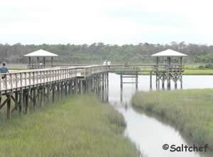 fishing pier at spruce creek park fl