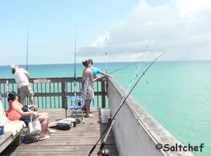 ocean fishing pier in daytona beach florida