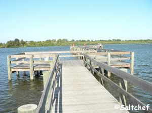 fishing pier in edgewater florida