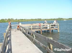 fishing pier indian river edgewater fl