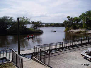 canoeing kayaking tomoka state park fl