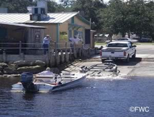 rock landing boat ramp panacea florida
