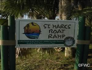 entrance sign to st marks public ramp