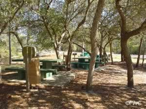 picnic area at eastern lake park walton county fl