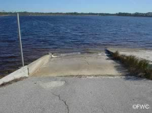 grayton beach state park boat ramp into brackish western lake