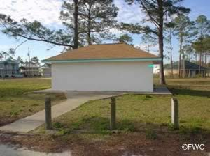 restrooms at legion park miramar beach florida