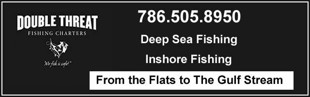 double threat fishing charters miami fl