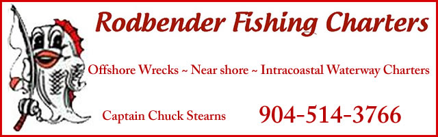 rodbender fishing charters chuck stearns