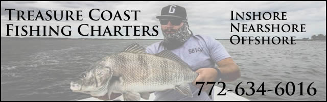 treasure coast fishing charters stuart fl
