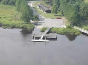 satilla river waterfront park boat ramp