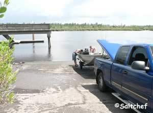 boat ramp on river in woodbine ga 31569
