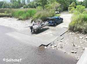 good boat ramp in woodbine camden county ga