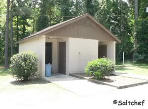 restrooms at satilla waterfront park