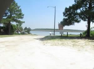 boat ramp at fw spencer park savannah