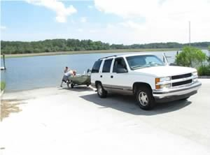 lazaretto creek boat ramp