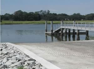 thunderbolt boat launching ramp