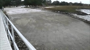 boat ramp on jekyll creek at tidelands