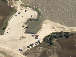 federal point boat ramp, kure beach, nc