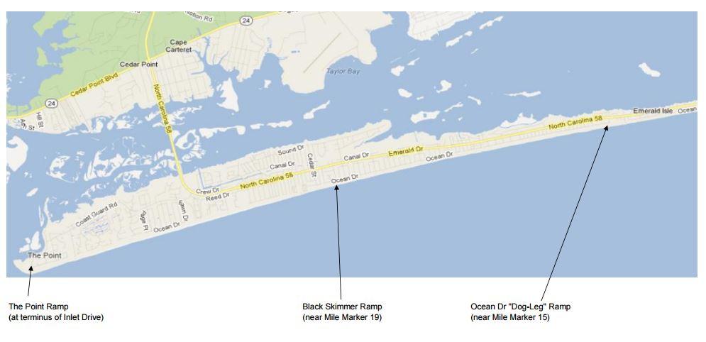 emerald isles n c public beach accesses. Black Bedroom Furniture Sets. Home Design Ideas