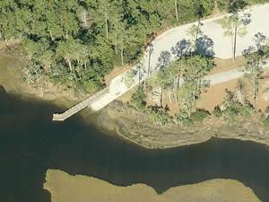 cedar point boat ramp in coatan forest, NC
