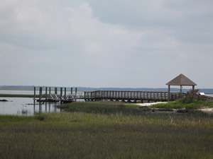 fishing dock at conchs point morehead city