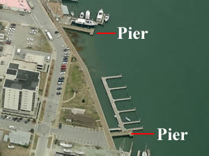 Fishing piers in carteret county north carolina for Fishing morehead city nc