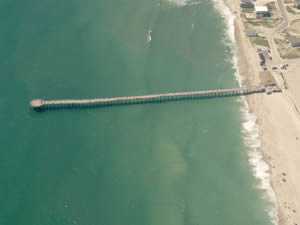rodanthe fishing pier on outer banks nc