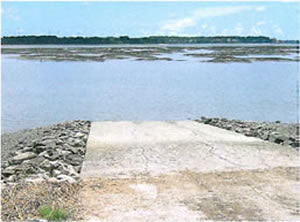 view of buckingham boat ramp