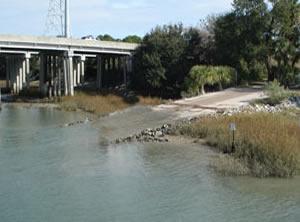 cc haigh boat ramp, hilton head islnd, sc