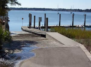 freedom mall boat ramp beaufort, sc