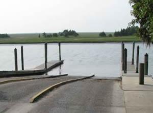 buck hall landing boat ramp