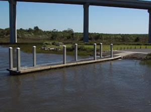 dawhoo landing boat ramp