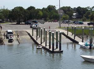 folly beach boat ramp, sc