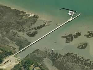 garris landing fishing pier, mount pleasant, sc