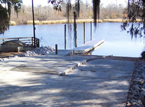 west bank boat ramp green pond, sc