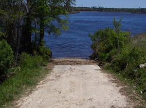 public boat ramp pringles ferry on black river
