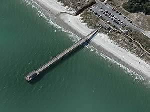 Fishing Pier At Myrtle Beach State Park